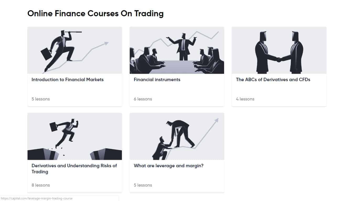 Capital.com Review Online Trading Courses