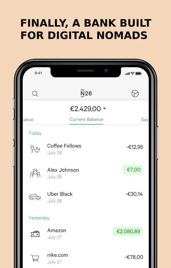 N26 - The Bank Built For Digital Nomads