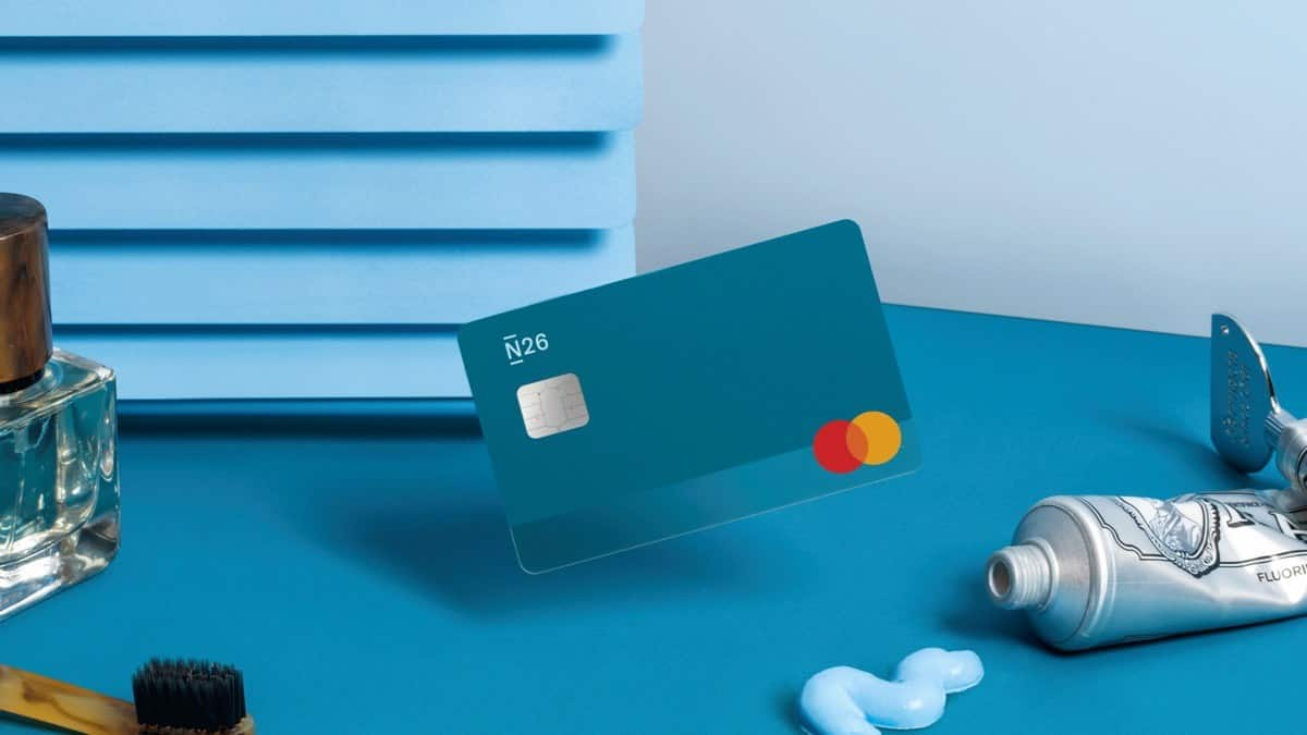 The N26 You card comes in five distinct colors: Aqua, Rhubarb, Sand, Ocean and Slate.