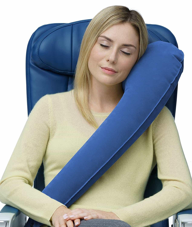 TravelRest All-In-One Travel Neck Pillow - Best Travel Neck Pillows
